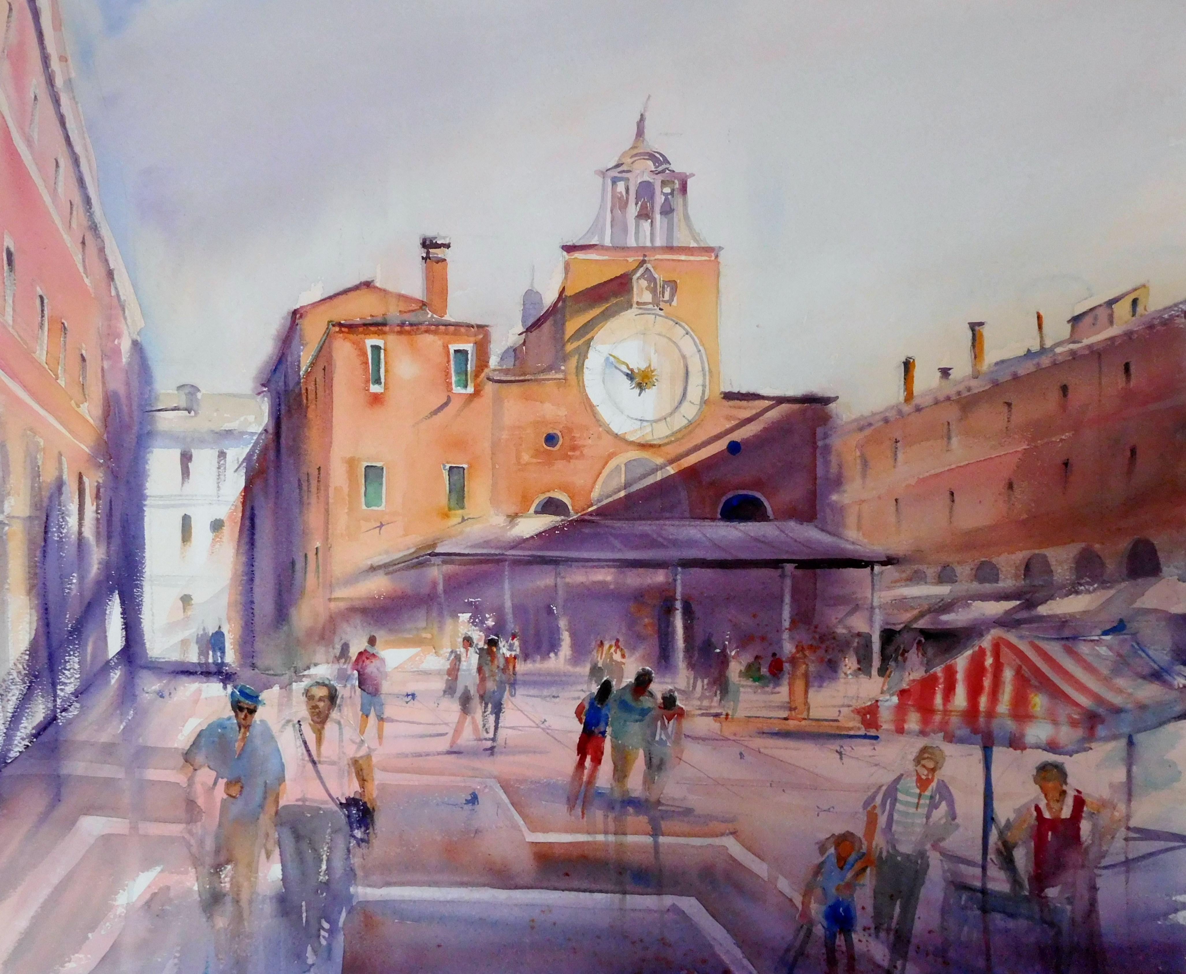 Venezia. San Giacomo, 56 x 67 cm. 2017