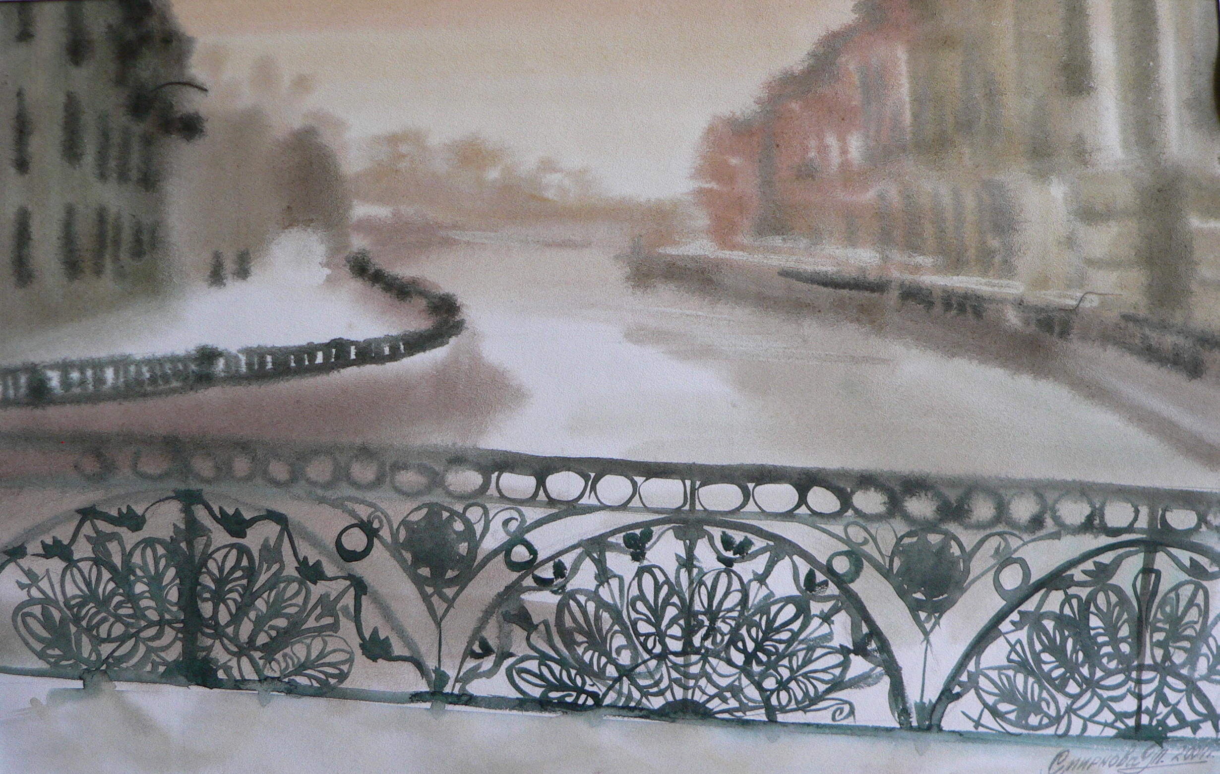 San Pietriburgo. le melodie di neve,23x36,2001 (2)