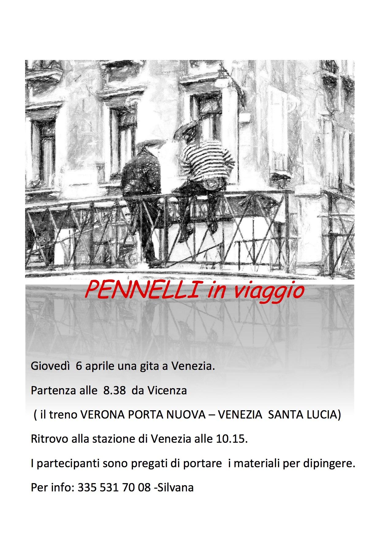 Pennelli in viaggio 2017